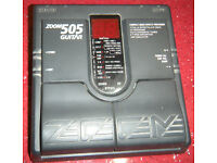 Zoom 505 Guitar or Bass effects
