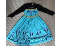 Frozen Anna Dress 120cm Age 5