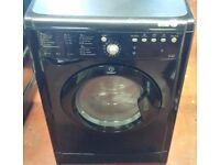 Indesit 7 kg washer dryer in black colour