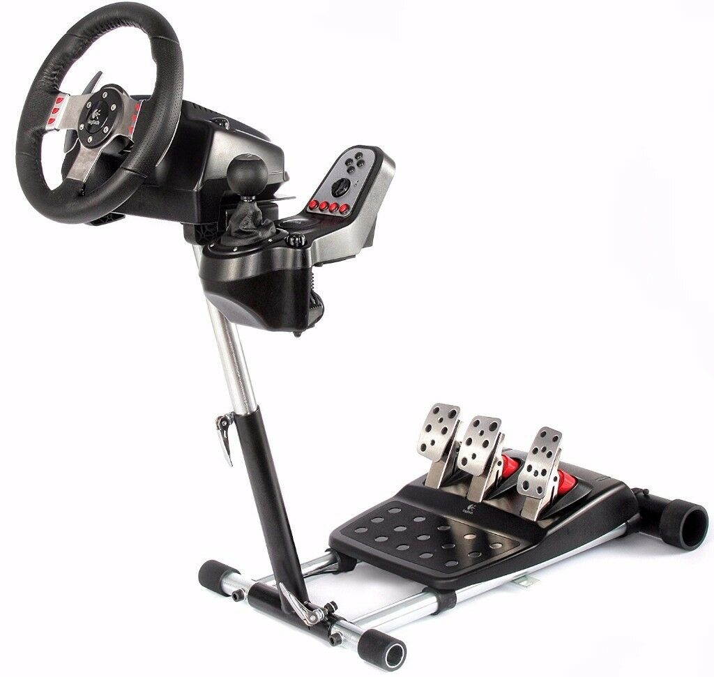 Logitech G27 gaming wheel + Wheel Stand Pro Deluxe V2