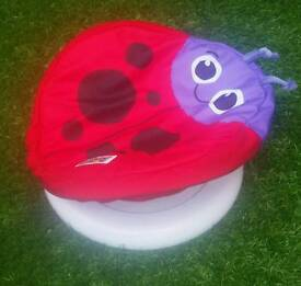 Lamaze lady bird tummy time spinner excellent condition