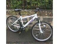 Apollo ladies/teenagers brand new mountain bike, light weight, front suspension for extra comfort