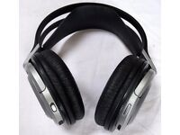Panasonic RP-WF950EB-S Wireless Headphones with Surround Sound- Silver