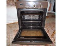 Bosch Built In Fan Assisted Oven Cooker / Grill & Separate Halogen Hob