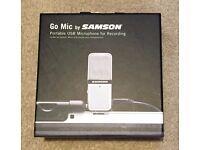 Samson Go Mic – Clip On USB Microphone (Like New)