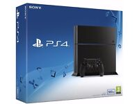 Sony PlayStation 4 Console 500 GB Edition Jet Black BRAND NEW