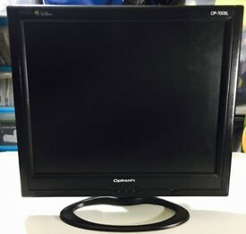 """Slimline 17"""" TFT monitor,immaculate,as new, bargain at only £30,can be used for CCTV cameras etc..."""