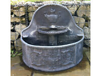 Lead Water Feature, made by Stephen Markham
