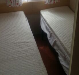 Bed for static caravan