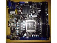 MSI B75IA-E33 LGA1155 Mini-ITX Motherboard