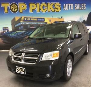 2008 Dodge Grand Caravan SXT, ALLOYS, STO N GO, REAR A/C AND MOR