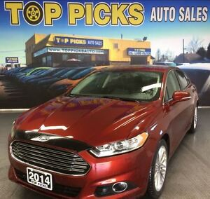 2014 Ford Fusion SE AWD, LEATHER, SUNROOF, NAVIGATION!