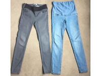 2x maternity skinny jeans
