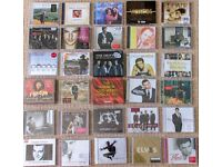 30 Brand new CDs for sale by a variety of artists