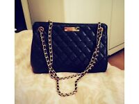 Brand New Carvella Kurt Greiger Black Quilted Handbag