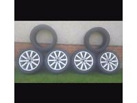 4 summer and 2 winter tyres