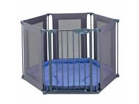Lindam safety and secure fabric playpen