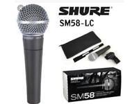 Shure sm58 legendary vocal microphone