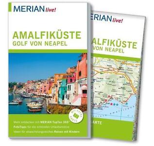 REISEFÜHRER Amalfiküste, Golf von Neapel 2015/16 + LANDKARTE; UNGELESEN, wie neu