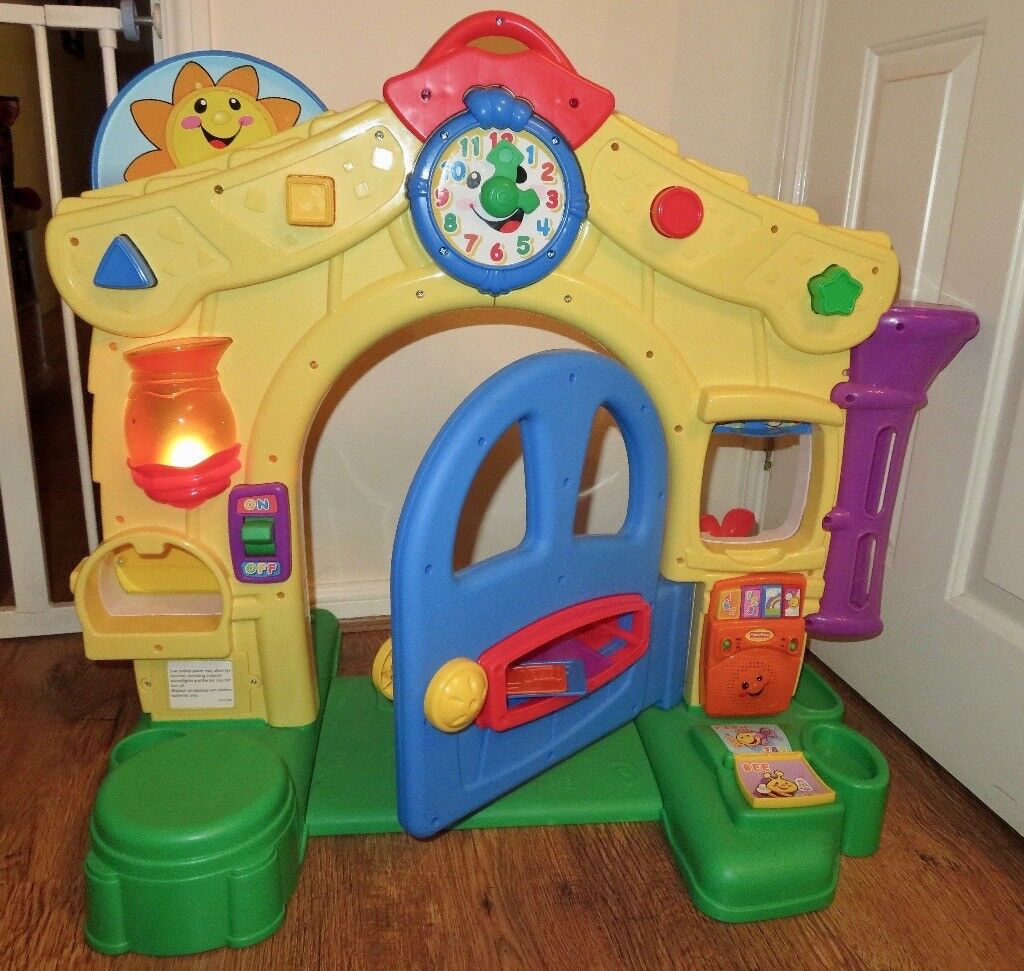 cd384575a Fisher Price Laugh   Learn Learning Home Door interactive musical toy
