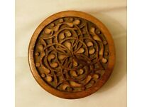 *CHARITY SALE* Beautiful HANDMADE vintage wooden jewelery box (1/7)