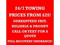 RECOVERY & BREAKDOWN,24/7, SCRAP/NON RUNNERS,LONDON,ESSEX,HERTFORDSHIRE,PROMPT,RELIABLE,GREAT PRICES