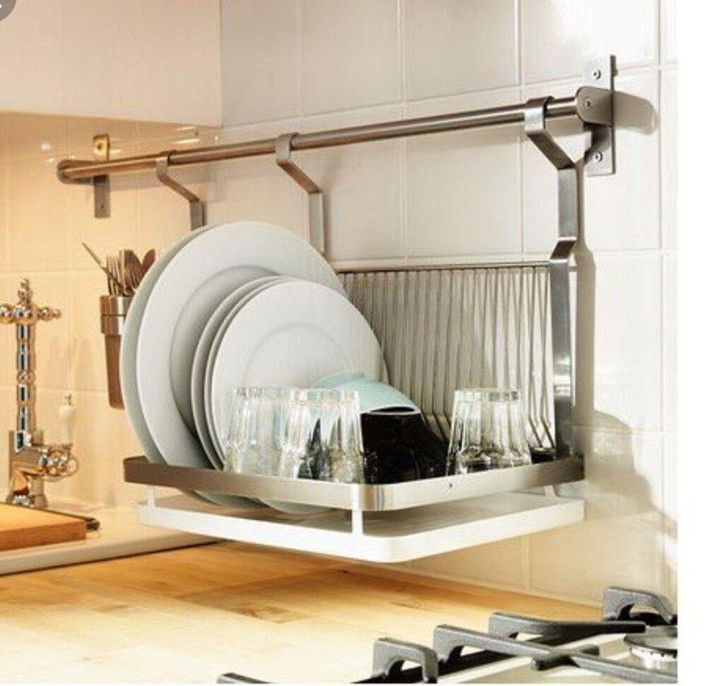 Ikea Wall Mounted Dish Rack Accessories In Islington London Gumtree