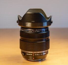 Olympus Zuiko 12-40mm f2.8 pro zoom lens micro four thirds
