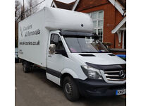 Man and Van tail lift Removals Crawley, Horsham, Pulborough, Southwater, Billingshurst