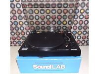 Boxed SOUNDLAB G056F USB Manual Belt-Drive Turntable.