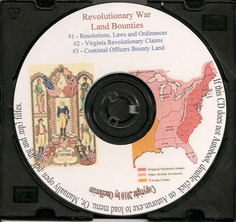 Revolutionary War Land Bounties - History & Genealogy