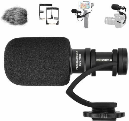 Comica CVM-VM10II Mini Shotgun Microphone for DSLR Camera Camcorder Smartphone
