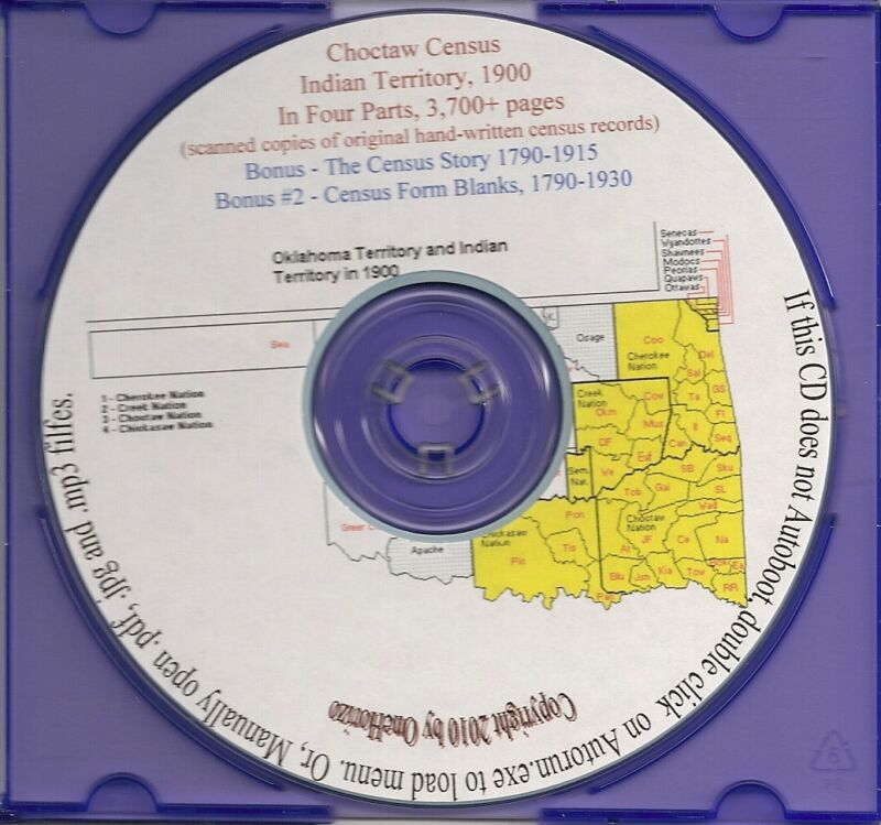 Choctaw Census - Indian Territory 1900