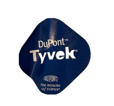 Dupont Large Hazmat Suit Tyvek Coveralls With Hood