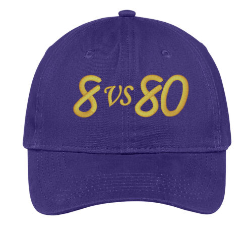 Omega Psi Phi 8 vs 80 Baseball Hat