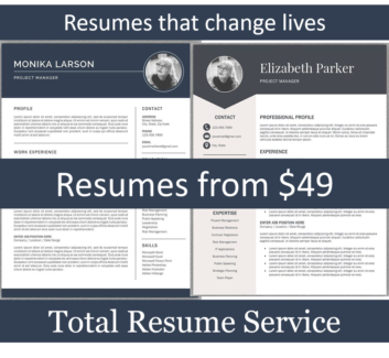 Resume Writers - Resume Writing Services -  Resumes from $49