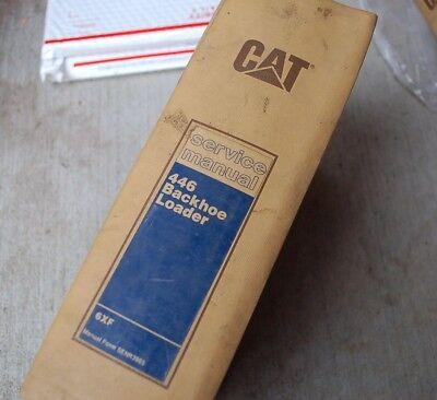 Cat Caterpillar 446 Backhoe Loader Repair Shop Service Manual Owner Operator Oem