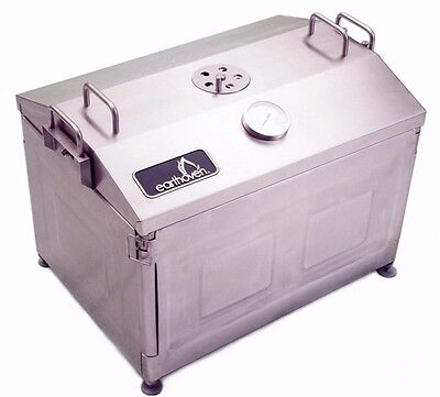 Earth Oven® - BBQ Grill, Smoker, Roaster, Stainless Steel BBQ, Outdoor Pit BBQ,