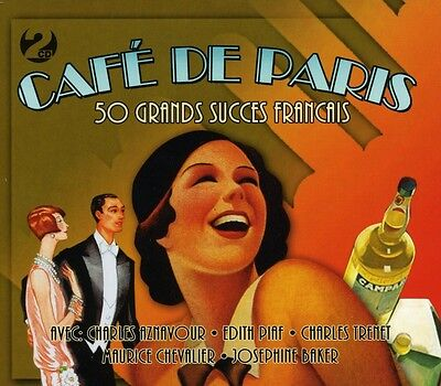 Cafe De Paris VARIOUS ARTISTS Best Of 50 French Songs ESSENTIAL Music NEW 2