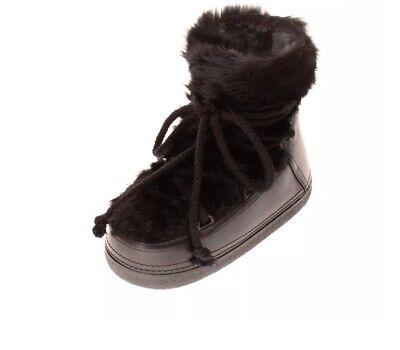 INUIKII $535 winter moon boots, Ugg, Rabbit Fur US 9 ,  39 40 41 size