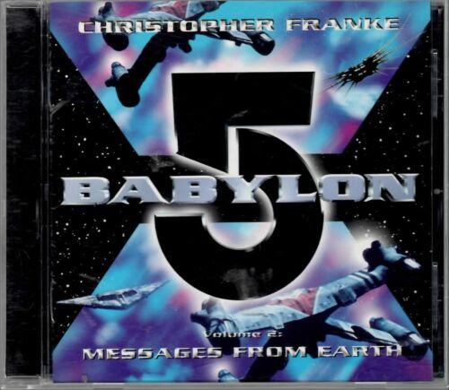 Babylon 5 Volume 2 Messages From Earth Soundtrack CD Christopher Franke Preowned