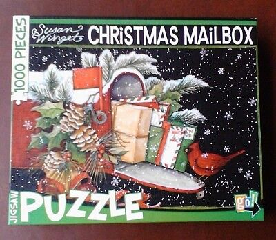 Susan Winget Christmas Mailbox 1000 Piece Puzzle Go Games](Christmas Puzzle Games)