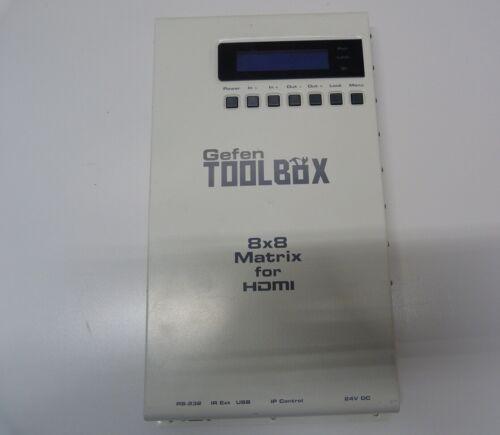 Gefen GTB-HDFST-848 ToolBox 8x8 HDMI Matrix Switch