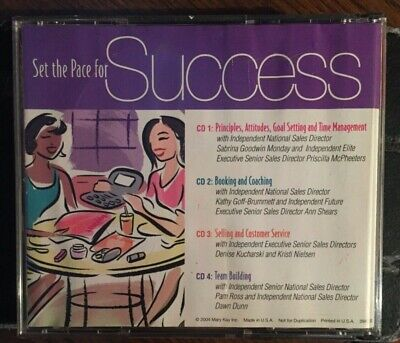 Set The Pace For Success Top Achievers (4 CD)