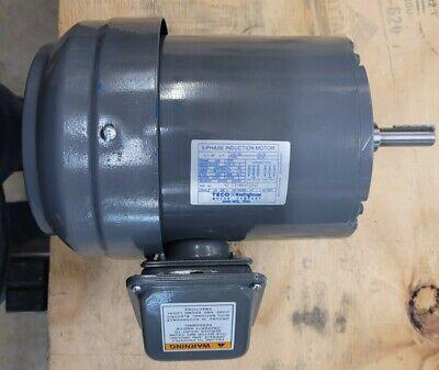 Teco Westinghouse G052 3-phase Induction Motor
