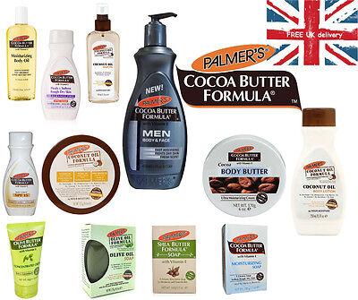 Palmer's Cocoa Butter Formula, Coconut Oil, Olive Butter Skin Care Full Range