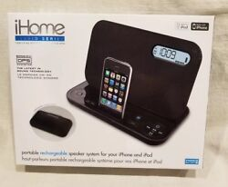 NEW iHome portable rechargeable speaker system for iPhone and iPod