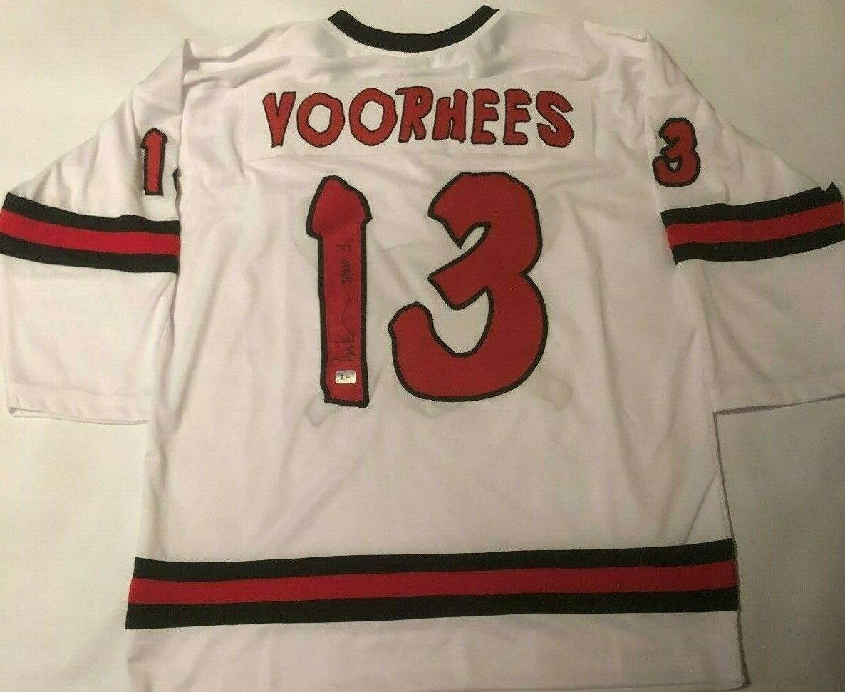 Ari Lehman Autographed Jason Voorhees Friday The 13th Jersey 1 Lehman Hologram - $24.50