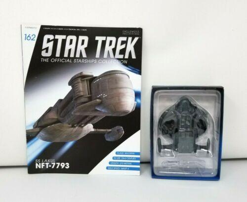 Eaglemoss Star Trek Official Starship Collection SS Lakul 7793 Ship w/ Book New