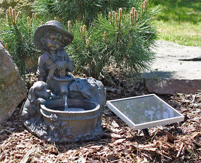 CLGarden Solar Springbrunnen NSP5 Zierbrunnen Brunnen Solarbrunnen Gartenbrunnen
